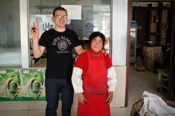Kucharka i ja. Longguzhen, Shandong, Chiny, 2010